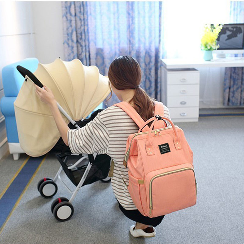 Lequeen Waterproof  Mummy Maternity Nappy Bag Brand Large Capacity Baby Bag Travel Backpack Designer Nursing Bag For Baby Care