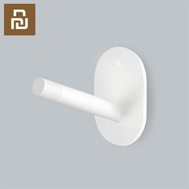 샤오미 3PCS Mijia 8H 접착제 다기능 후크/벽 걸레 강한 후크 홀더 욕실 침실 부엌 벽 베어링 3kg에 대 한