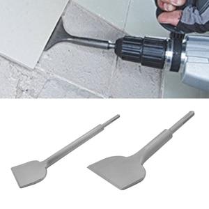 Image 4 - Metselwerk Baksteen 3 In Brede SDS Plus Shank Boren Platte Professionele DIY Legering Staal Power Tools Gegroefde Tegel Beitel beton