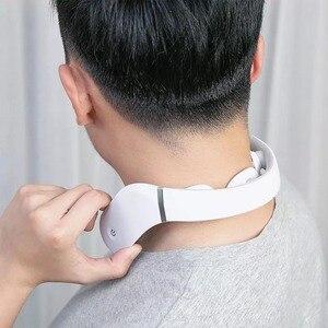 Image 4 - Masseur Cervical G2 dizaines Pulse protéger le cou seulement 190g Double effet compresse chaude en forme de L usure travail pour Mijia App
