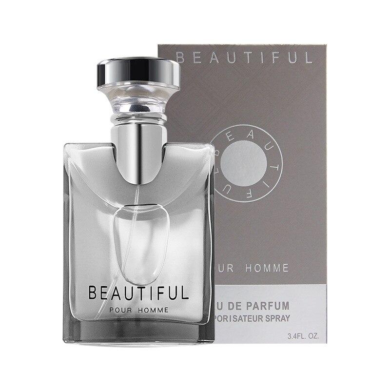 LANBENA 100ML Perfume For Men Long Lasting Fragrance Woody Notes Spray Glass Bottle Male Parfum Original Gentleman Atomizer