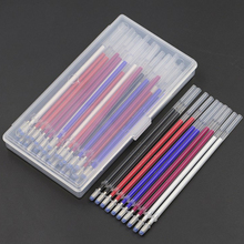 Buy 40pcs Heat Erasable Pen High Temperature Disappearing Fabric Marker Refills with Transparent Storage Box For Leather Fabric Craft DIY Tailoring Accessories directly from merchant!