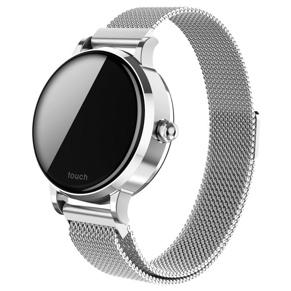 S9 hommes montres intelligentes femmes montre IP67 étanche 15 jours longue veille fréquence cardiaque pression artérielle Smartwatch Support IOS Android