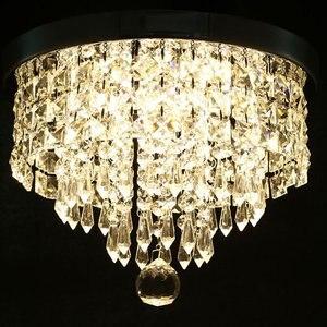 ¡Novedad! Lámpara LED de techo suave, lámpara de cristal claro para montar en casa, habitación y oficina, accesorio de cocina, decoración para el hogar de forma redonda