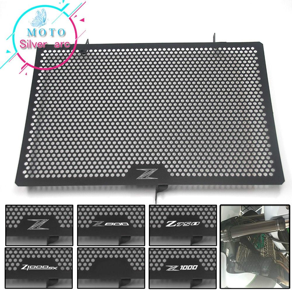 For KAWASAKI Z750 Z800 Z1000 Z1000SX NINJA 1000 Radiator Protective Cover Guards Radiator Grille Cover Protecter