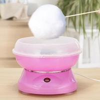Elektrikli DIY Mini tatlı pamuk şeker makinesi Marshmallow makineleri taşınabilir pamuk şeker ipi makinesi 450W