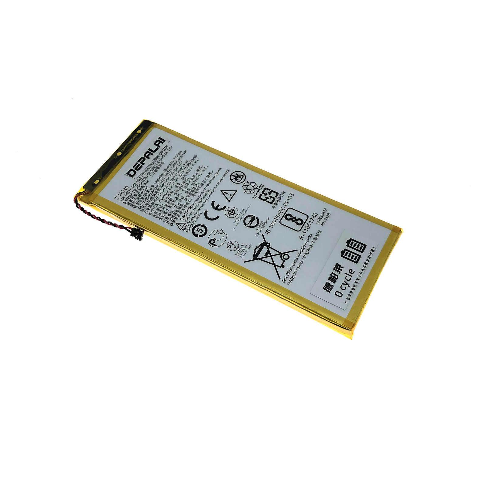 Motorol Moto G5 Plus XT1684 XT1685 XT1687 XT1681 휴대 전화 배터리 용 3500mAh HG40
