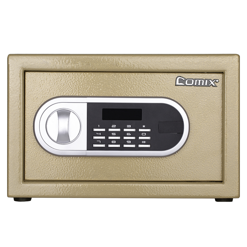 Comix Colorful Electronic Safes Promotion Small Safe Box,Lock Box, Money Box, For Office/Home