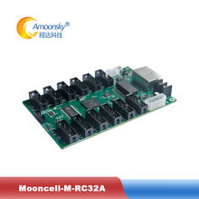 Mooncell control system M-RC32A led receiving card for full color p10 led display module flexible led video screen(China)