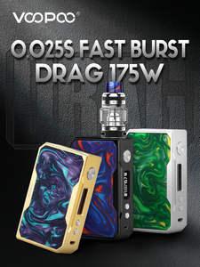 Drag Vape Mod 157W Box Mod Vaper 2ml/8ml Electronic Cigarette E-Cigs Vaporizer Vape Mod