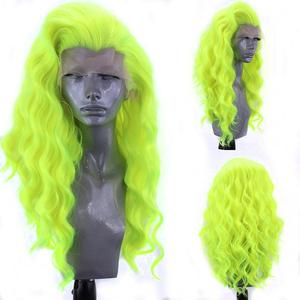 Image 5 - Charyzma #60 Platinum blond peruka z naturalną linią włosów syntetyczna koronka peruka front odporne na wysoką temperaturę Glueless czerwone peruki dla kobiet