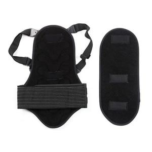 Image 3 - 2019 kayak spor geri yelek koruma yeni çıkarılabilir kayak vücut zırhı Backpiece arka koruyucu koruyucu vücut omurga siyah