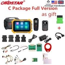 OBDSTAR X300 PAD2 X300 DP בתוספת C חבילה מלא גרסה 8 אינץ Tablet תמיכת ECU תכנות עבור טויוטה חכם מפתח