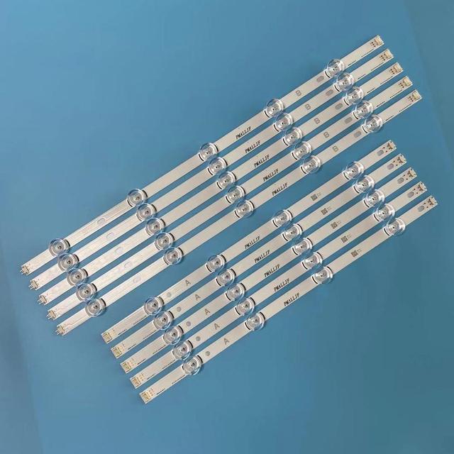 10 قطعة LED شريط إضاءة خلفي ل LG 49LB650V 49LB630V 49LB580V 49LB5500 49LB620V 49LB570B 49LB570U 6916L 1788A 1789A 1944A 1945A