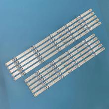 10 PIÈCES LED bande de Rétro Éclairage pour LG 49LB650V 49LB630V 49LB580V 49LB5500 49LB620V 49LB570B 49LB570U 6916L 1788A 1789A 1944A 1945A