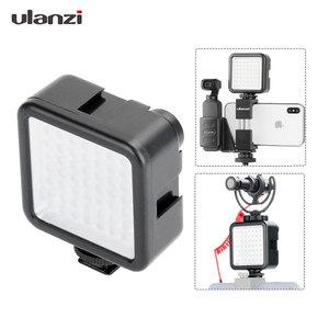 W49 LED Pocket on Camera Mini LED Video Light Photography Light for Gopro DJI Osmo Pocket Nikon Sony DSLR Cameras Smart Phones(China)