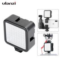 W49 LED Pocket on Camera Mini LED Video Light Photography Light for Gopro DJI Osmo Pocket Nikon Sony DSLR Cameras Smart Phones