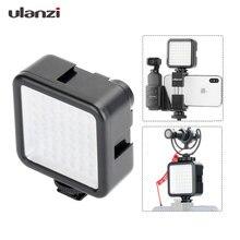 W49 Led Pocket Op Camera Mini Led Video Licht Fotografie Licht Voor Gopro Dji Osmo Pocket Nikon Sony Dslr Camera smart Telefoons