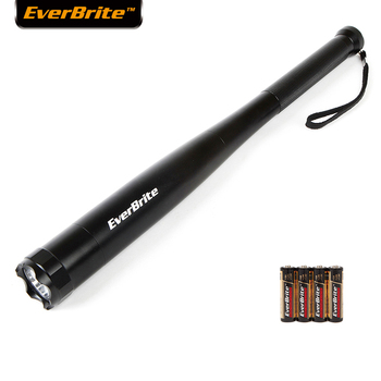 Everbrite Baseball Bat LED Flashlight 2000 Lumens Baton Torch Light Torch for Emergency And Self Defense Security Camping Light