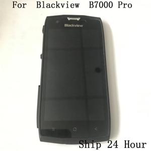 Image 1 - オリジナル Blackview BV7000 プロ使用される Lcd ディスプレイ画面 + タッチスクリーン + フレーム + インタフェースゴム栓 Blackview BV7000 プロ