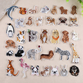 Exquisite Patch Cute Trumpet Animal Embroidery Cloth Sticker Children Clothes Patch Patch Decorative Sticker Iron on Patches