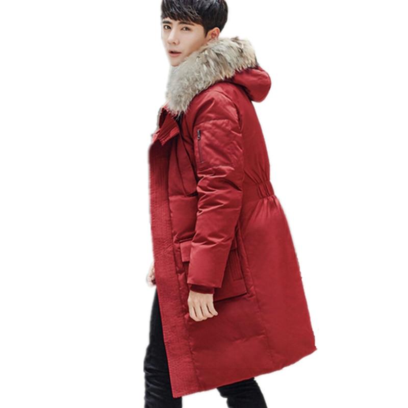 Мужская и Женская пуховая куртка, зимняя парка с капюшоном, плотная ветровка, YFY19 s