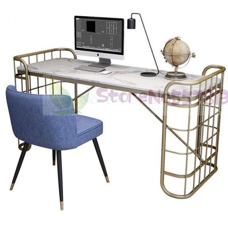 Nordic Style Desktop Computer Desk Simple Modern Home Study Marble Table Light Luxury Office Desk Writing Desk