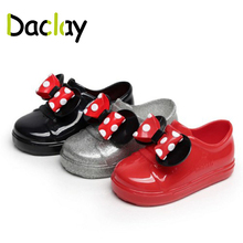 Daclay Fashion Design Shoes for Kids Bow Animal Cute Sneakers for Child