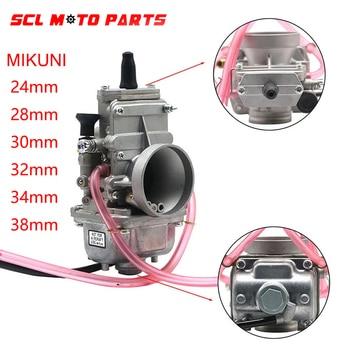 Carburador de motocicleta ALconstar para 200cc-250cc Carburador de 4 tiempos MIKUNI TM24/28/30/32/34/38mm