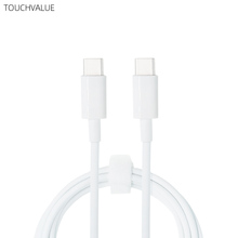 Type C to Type C Charging Cable Replacement For Mobile Phone Tablets Laptops High Quality Max 5A 1 8m Type-C Cable White cheap touchvalue