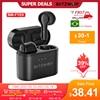 BlitzWolf BW-FYE9 TWS bluetooth 5.0 słuchawki bezprzewodowe słuchawki douszne pół w uchu DSP redukcja szumów krótki czas oczekiwania gry z mikrofonem pąki darmowa dostawa telefonów komórkowych sport smart earphones
