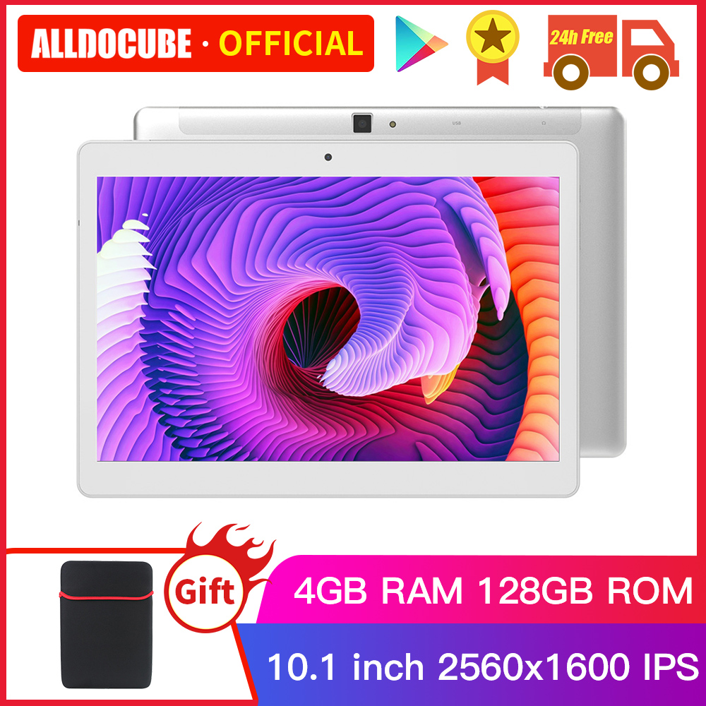 ALLDOCUBE M5X Pro 10.1 Inch Android 8.0 Tablet 4GB RAM 128GB ROM MTK X27 4G LTE 10 Core Phone Call Tablets PC 2560*1600 IPS