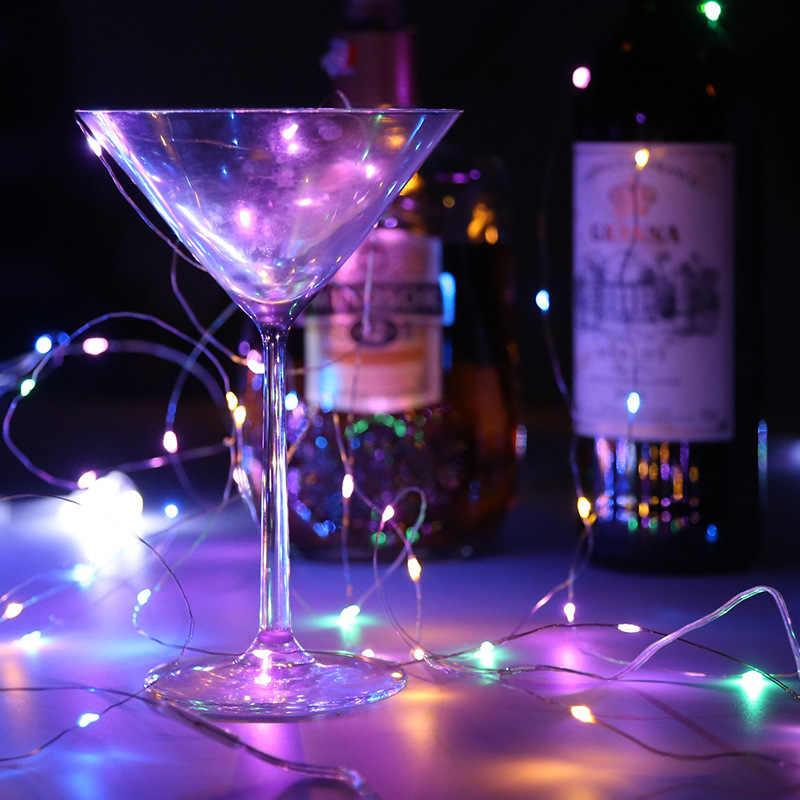 10M Led Guirlande String Diy Fairy Lights Voor Glas Ambachtelijke Fles Nieuwe Jaar Kerst Valentines Birthday Party Bruiloft Decoratie