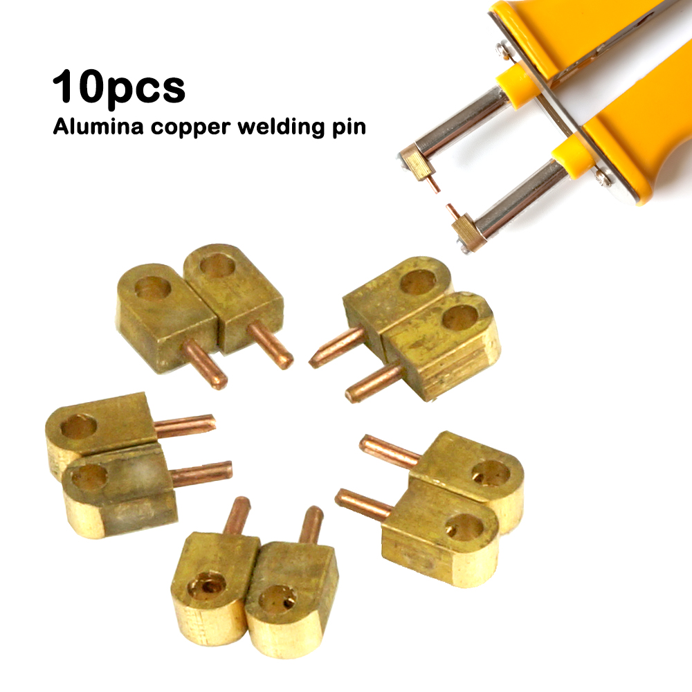 10PCS Alumina Copper Welding Pin For HB-71B High Power Spot Welding Neelde Battery Soldering Accessorie Pulse Welding Durability