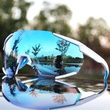 2019 yeni bisiklet gözlük gözlük 3 Lens polarize güneş gözlüğü kaplı ayna UV400 Peter bisiklet bisiklet gözlük için dağ bisikleti