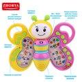 Zhorya abelha estudo livro com voz russa brinquedo do bebê animal aprendizagem página transformando brinquedos eletrônicos para crianças presentes de natal