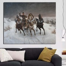 Nordic Poster Spray Painting Classic Wallpaper Canvas Print Living Room Home Decor Modern Wall Art Oil
