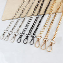 Long 120cm Metal Purse Chain Strap Handle Handle Replacement For Handbag Shoulder Bag 9 Colors(China)