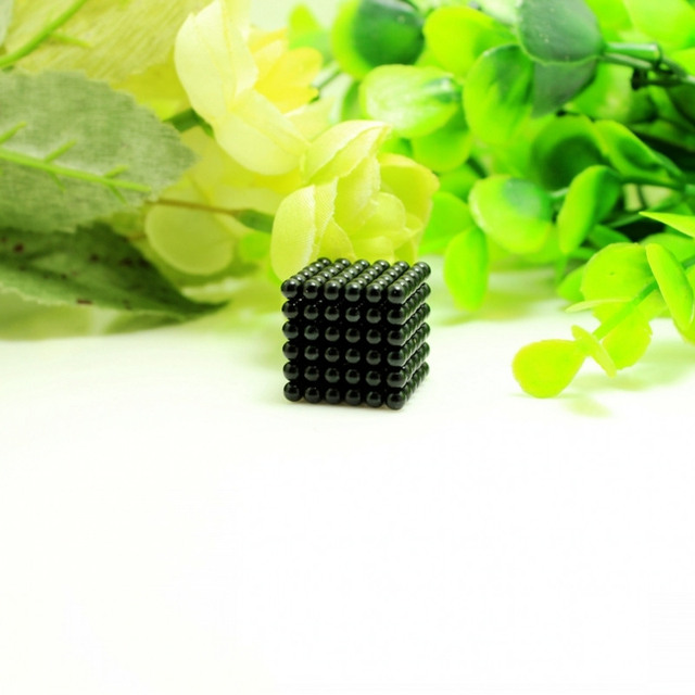 D3 Black Beads