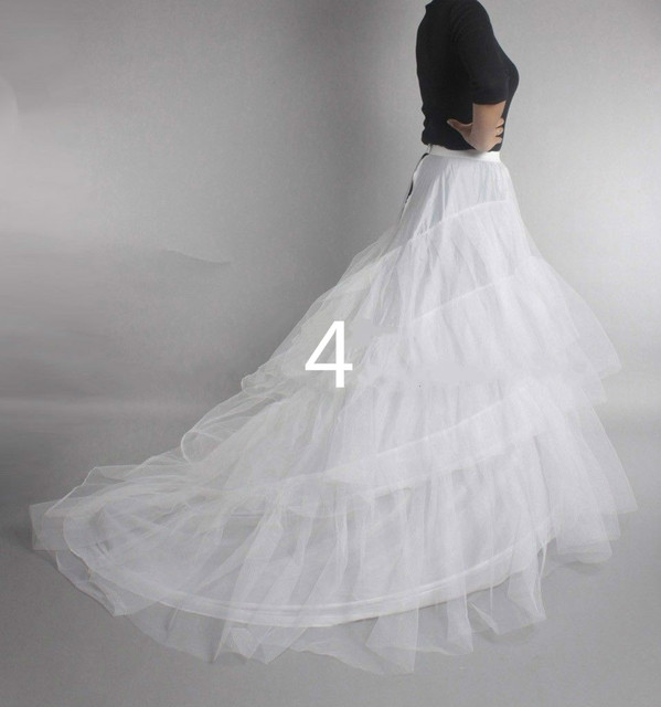 Wedding Petticoat Crinoline Slip Underskirt Bridal Dress Hoop Vintage Slips 5