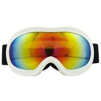 Óculos de esqui dupla camada anti-nevoeiro grande máscara de esqui óculos de snowboard de neve