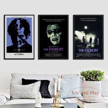 The Exorcist классический Ужасный фильм художественная живопись винтажный Холст плакат настенный Декор для дома