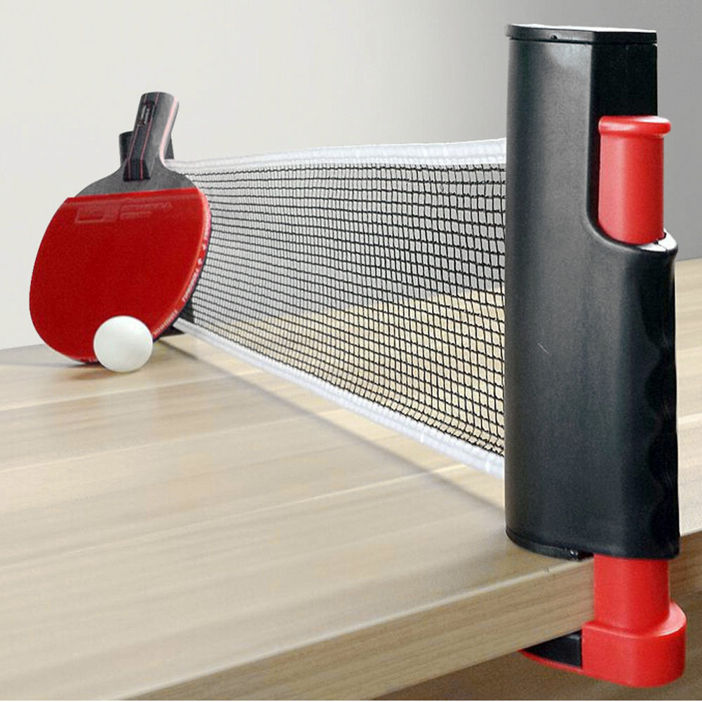 2020 New Creative Table Tennis Net Table Tennis Net Portable Anywhere Retractable Ping Pong Post Net Rack For Any Table