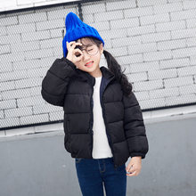 Best Kids Hooded Winter Cotton Coat Lightweight Puffer Jacket Full Zip Warm Outerwear Clothing for Toddlers, Boys and Girls(China)