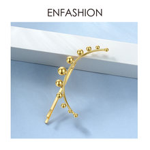 ENFASHION Ball Hair Pins For Women Accessories Gold Color Stick Pin Clip On Head Fashion Hair Jewelry Girls Friends Gifts E1098(China)