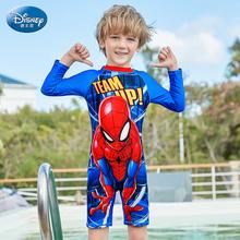 Oryginalny Disney dzieci chłopcy strój kąpielowy 2020 nowy Spider-Man plaża dzieci stroje kąpielowe dla chłopców chłopców pływać krótki SW200365 chłopiec dziecko Swimwe tanie tanio Poliester spandex Octan Boys baby Wysypka guards Pasuje prawda na wymiar weź swój normalny rozmiar Cartoon