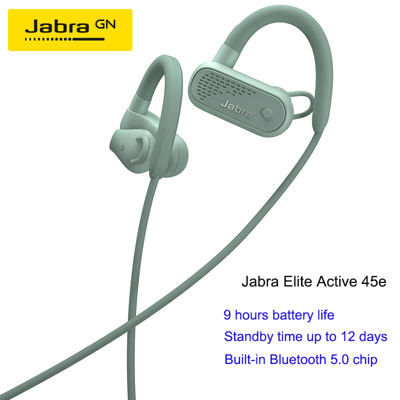 Jabra Elite Active 45e Yuebo Bluetooth Sports Earphone Music Headphone Apple Android Phone Neck Hanging Earphones Headphones Aliexpress