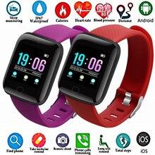 Лидер продаж 116 Смарт часы с полноэкранным сенсорным экраном