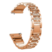 18mm 20mm 22mm Strap Frauen Diamant Armband für Garmin Uhr Band Vivoactive 4/4S/3/Venu 2 1 2S/SQ/Vivomove HR Metall Stahl Gürtel