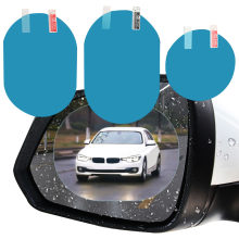 Film autocollant imperméable pour rétroviseur de voiture, 2 pièces, avec vue claire les jours de pluie